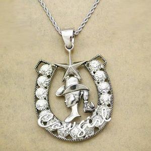 Jewelry - Horseshoe Cowgirl Necklace